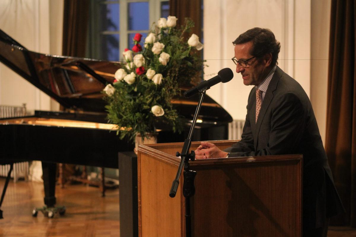 Discurso Pdte. Sociedad Chopin, Cristóbal Giesen Guerra